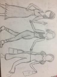 Poses, again (Cute dresses)