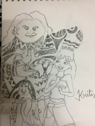 Another Moana fan art!!!