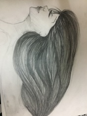 Shading in the hair!