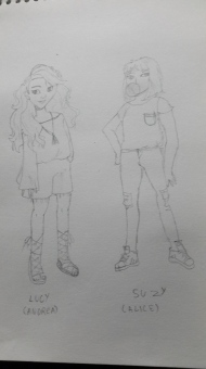 Characters from a comic..originally designed by Laia Lopez.